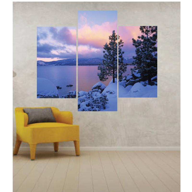 Wall Frames 3 Pieces Set Canvas – Digitally Printed Wall Canvas TJ-02