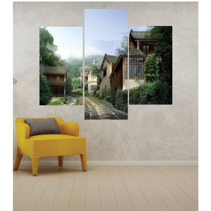 Wall Frames 3 Pieces Set Canvas – Digitally Printed Wall Canvas TJ-09