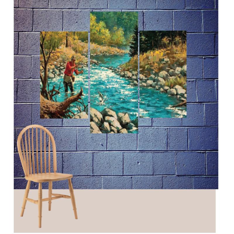 Wall Frames 3 Pieces Set Canvas – Digitally Printed Wall Canvas TJ-113
