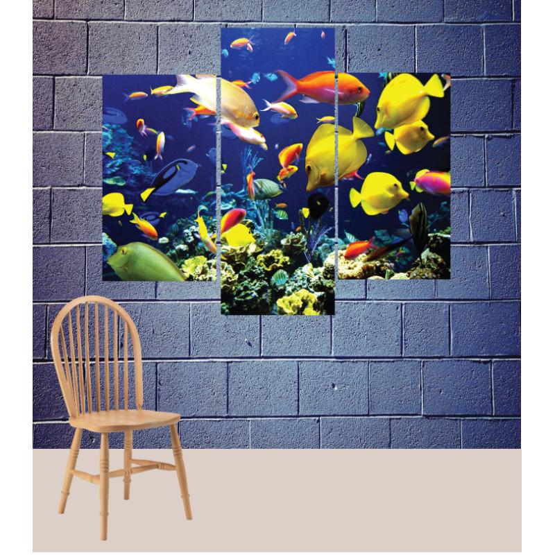 Wall Frames 3 Pieces Set Canvas – Digitally Printed Wall Canvas TJ-117