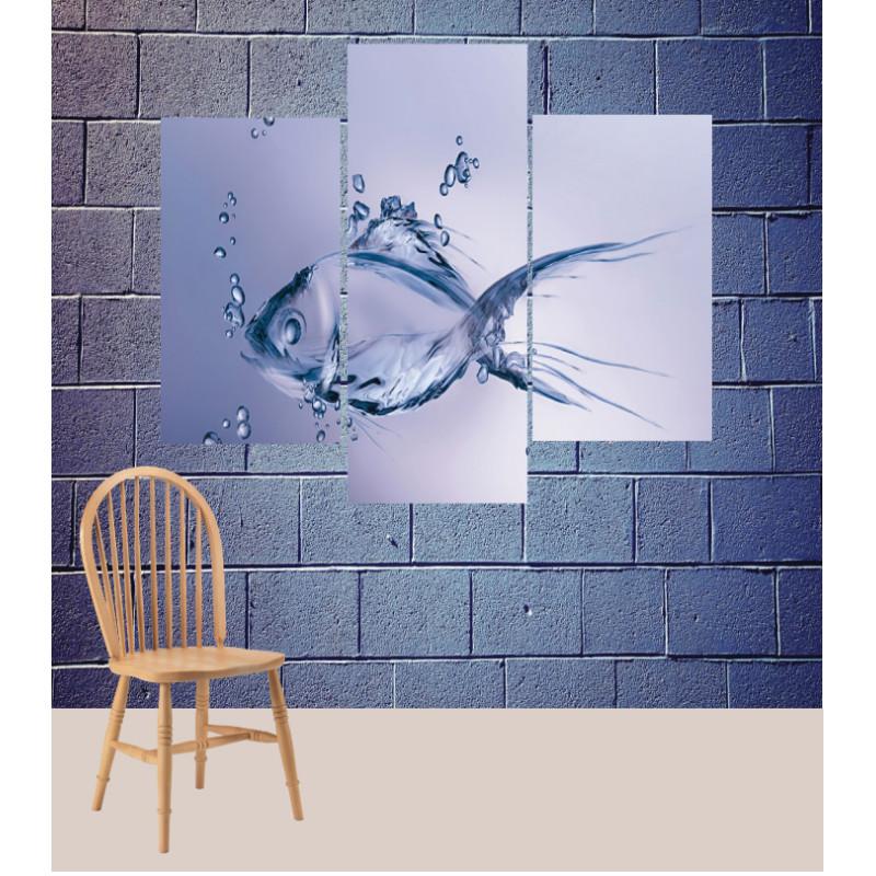 Wall Frames 3 Pieces Set Canvas – Digitally Printed Wall Canvas TJ-118