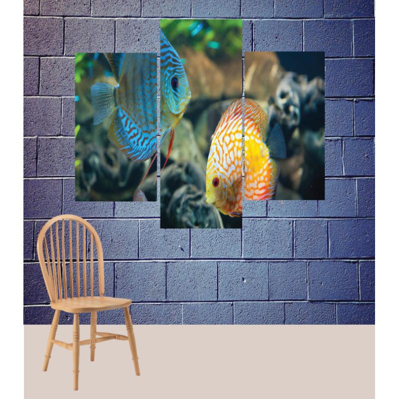 Wall Frames 3 Pieces Set Canvas – Digitally Printed Wall Canvas TJ-124
