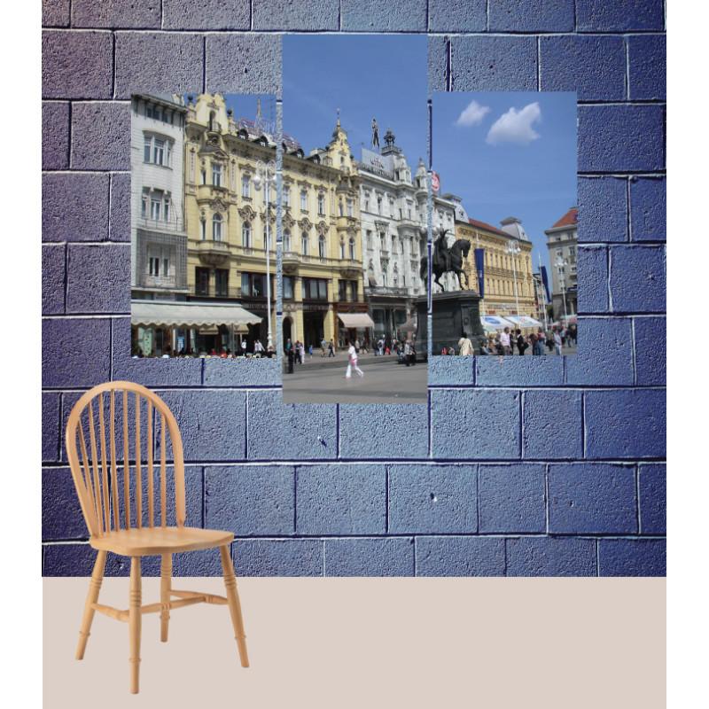 Wall Frames 3 Pieces Set Canvas – Digitally Printed Wall Canvas TJ-126