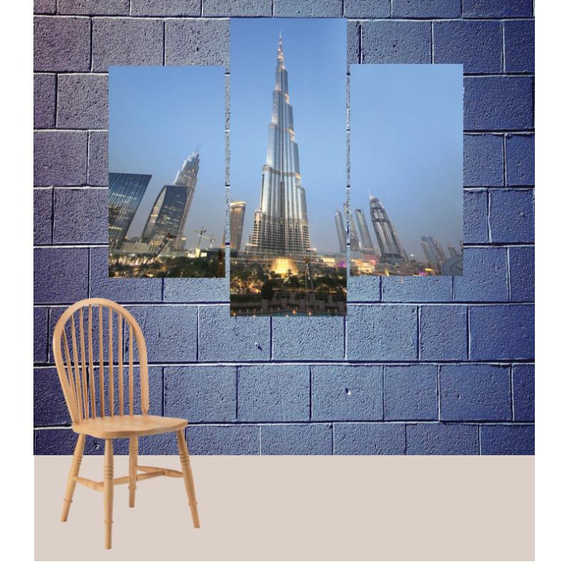 Wall Frames 3 Pieces Set Canvas – Digitally Printed Wall Canvas TJ-134