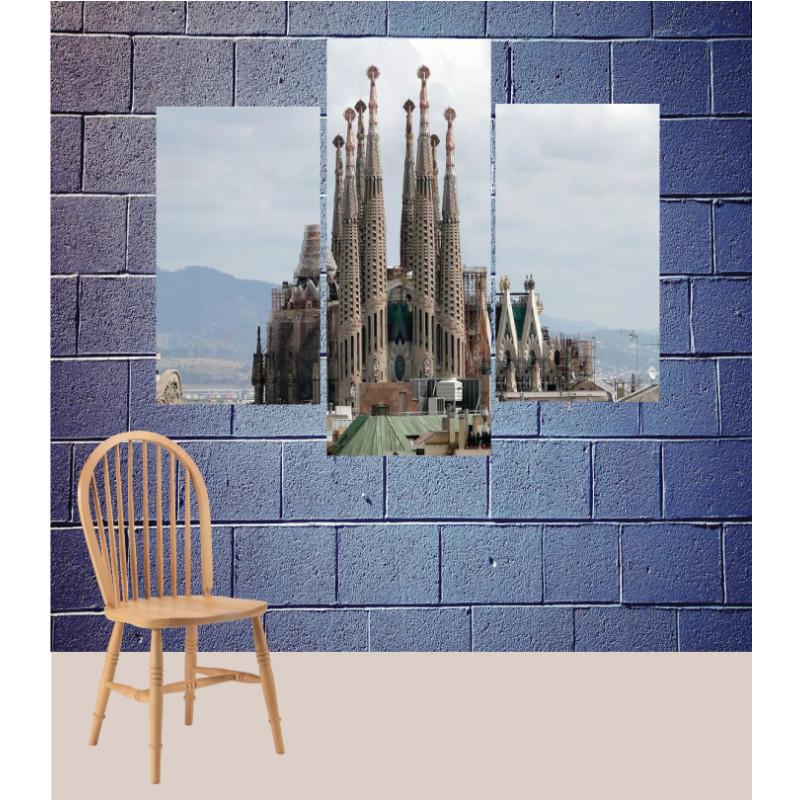 Wall Frames 3 Pieces Set Canvas – Digitally Printed Wall Canvas TJ-141