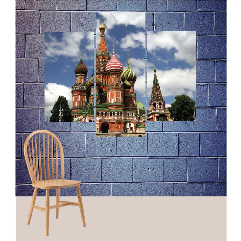 Wall Frames 3 Pieces Set Canvas – Digitally Printed Wall Canvas TJ-145