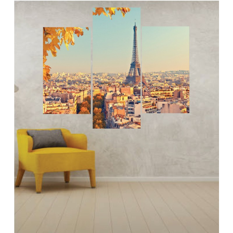 Wall Frames 3 Pieces Set Canvas – Digitally Printed Wall Canvas TJ-15