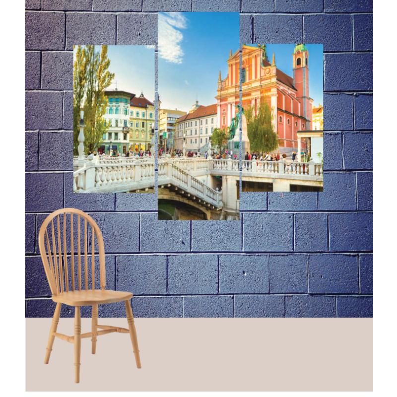 Wall Frames 3 Pieces Set Canvas – Digitally Printed Wall Canvas TJ-151