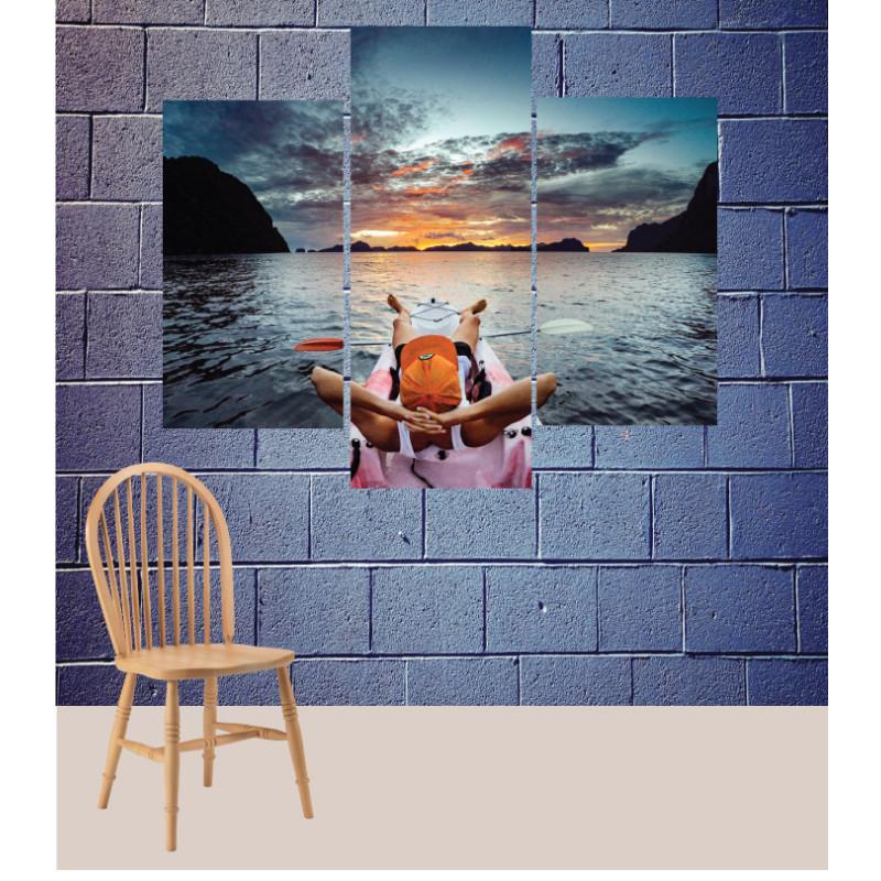 Wall Frames 3 Pieces Set Canvas – Digitally Printed Wall Canvas TJ-154