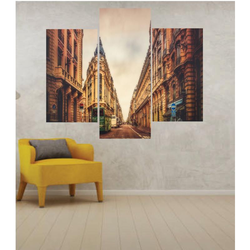 Wall Frames 3 Pieces Set Canvas – Digitally Printed Wall Canvas TJ-16