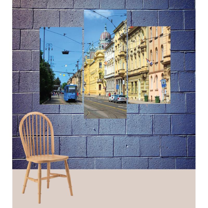 Wall Frames 3 Pieces Set Canvas – Digitally Printed Wall Canvas TJ-175