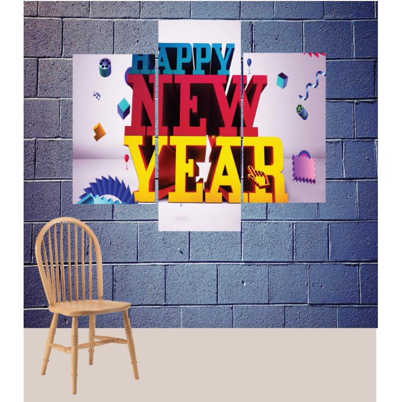 Wall Frames 3 Pieces Set Canvas – Digitally Printed Wall Canvas TJ-183