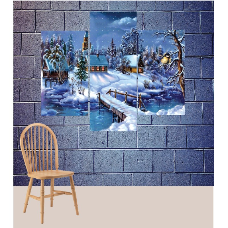 Wall Frames 3 Pieces Set Canvas – Digitally Printed Wall Canvas TJ-186