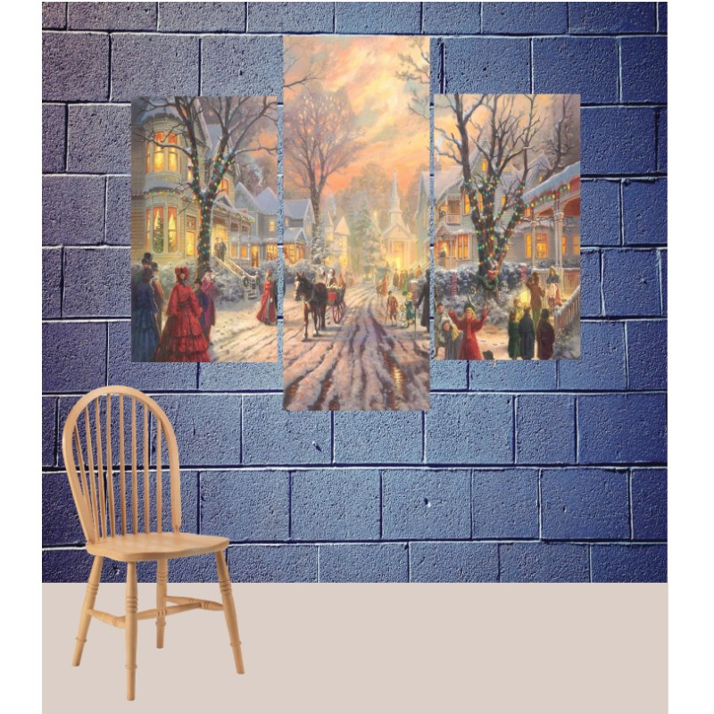 Wall Frames 3 Pieces Set Canvas – Digitally Printed Wall Canvas TJ-187