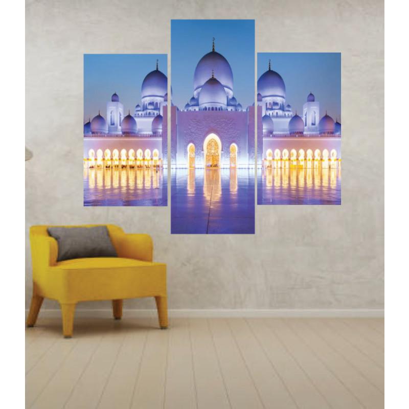 Wall Frames 3 Pieces Set Canvas – Digitally Printed Wall Canvas TJ-19