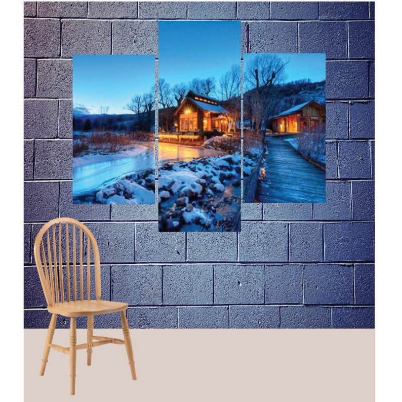 Wall Frames 3 Pieces Set Canvas – Digitally Printed Wall Canvas TJ-197