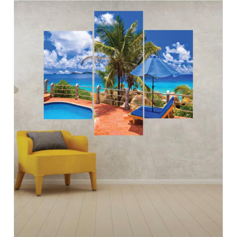 Wall Frames 3 Pieces Set Canvas – Digitally Printed Wall Canvas TJ-202