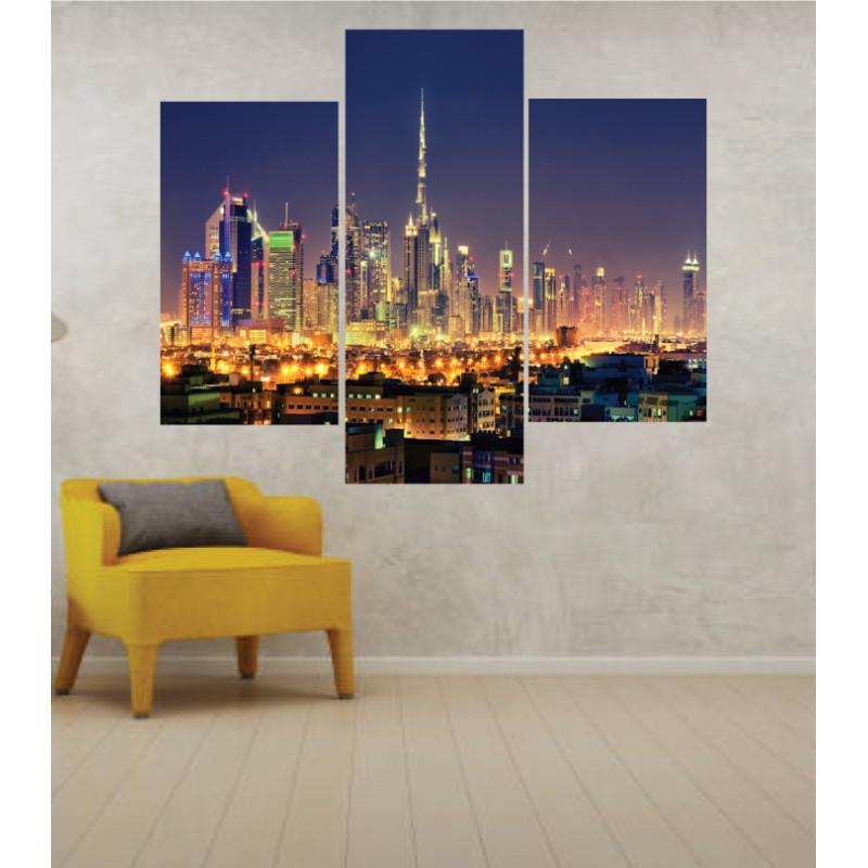 Wall Frames 3 Pieces Set Canvas – Digitally Printed Wall Canvas TJ-218