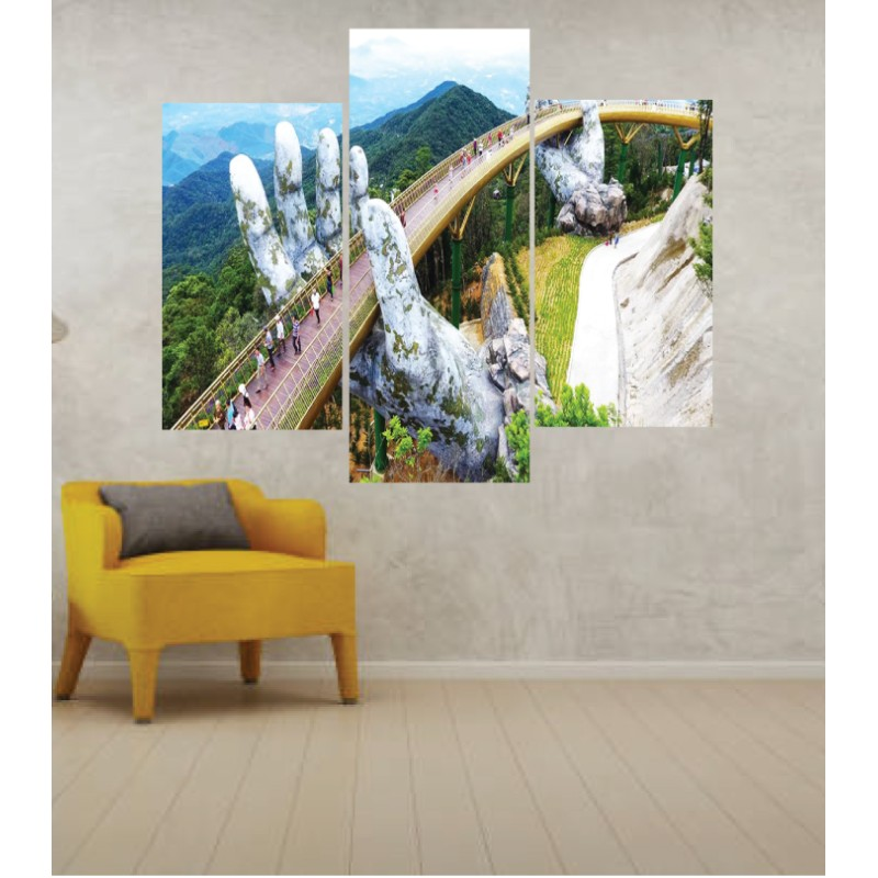 Wall Frames 3 Pieces Set Canvas – Digitally Printed Wall Canvas TJ-224