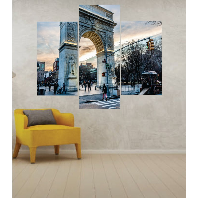 Wall Frames 3 Pieces Set Canvas – Digitally Printed Wall Canvas TJ-23