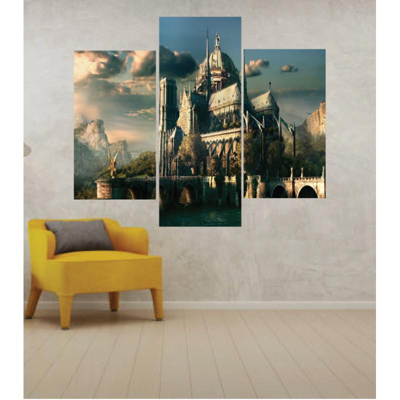 Wall Frames 3 Pieces Set Canvas – Digitally Printed Wall Canvas TJ-230