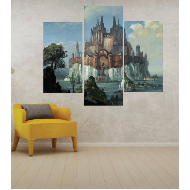 Wall Frames 3 Pieces Set Canvas – Digitally Printed Wall Canvas TJ-231