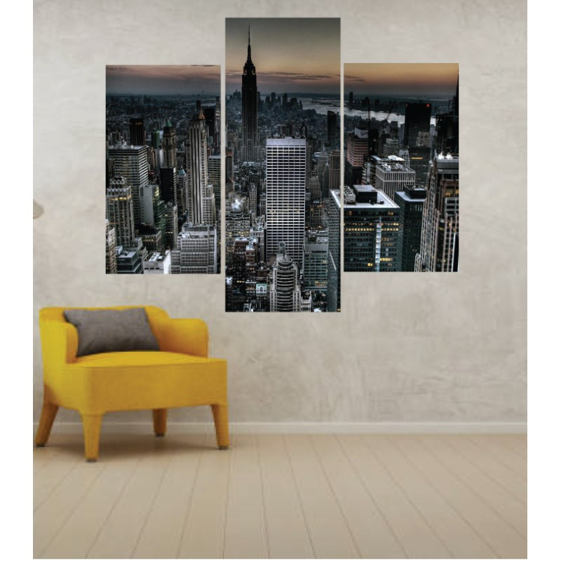 Wall Frames 3 Pieces Set Canvas – Digitally Printed Wall Canvas TJ-235