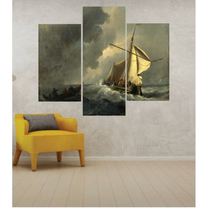 Wall Frames 3 Pieces Set Canvas – Digitally Printed Wall Canvas TJ-238