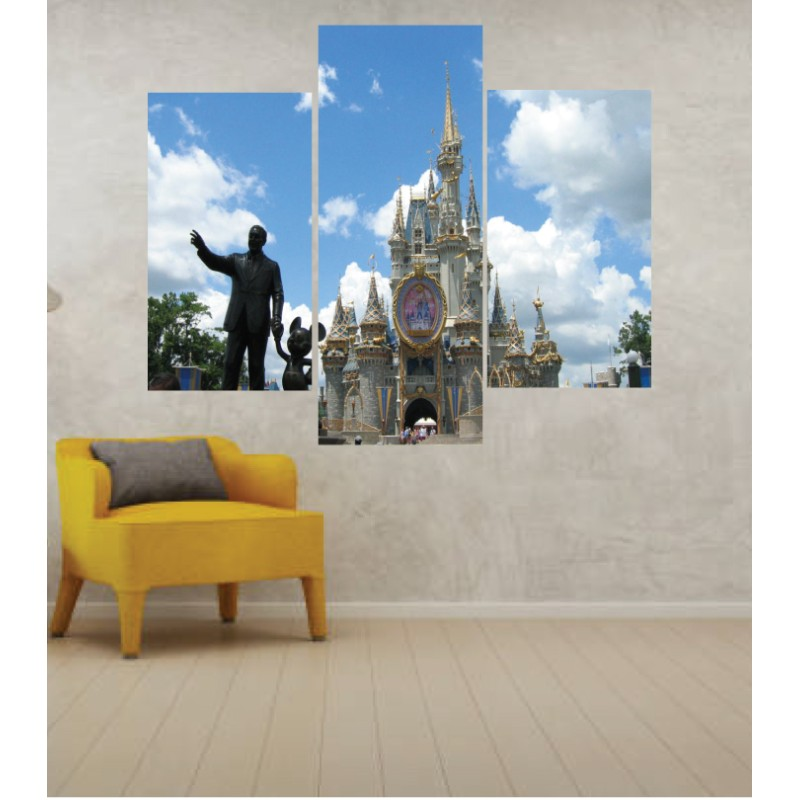 Wall Frames 3 Pieces Set Canvas – Digitally Printed Wall Canvas TJ-239