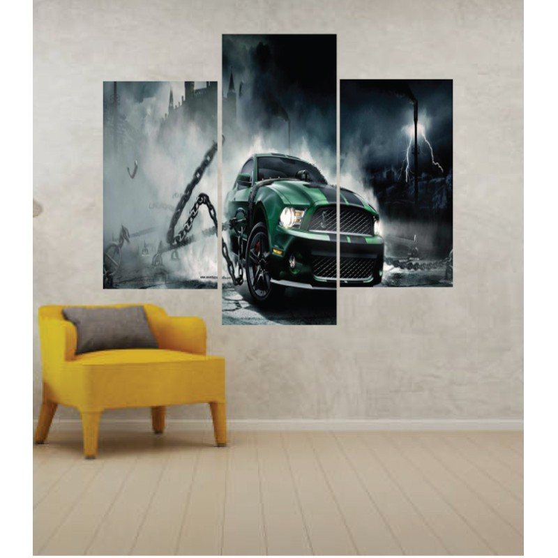 Wall Frames 3 Pieces Set Canvas – Digitally Printed Wall Canvas TJ-241
