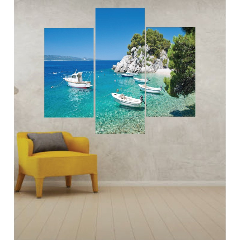 Wall Frames 3 Pieces Set Canvas – Digitally Printed Wall Canvas TJ-242
