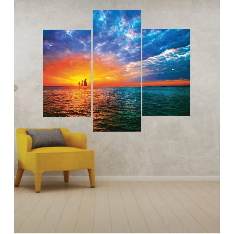 Wall Frames 3 Pieces Set Canvas – Digitally Printed Wall Canvas TJ-245