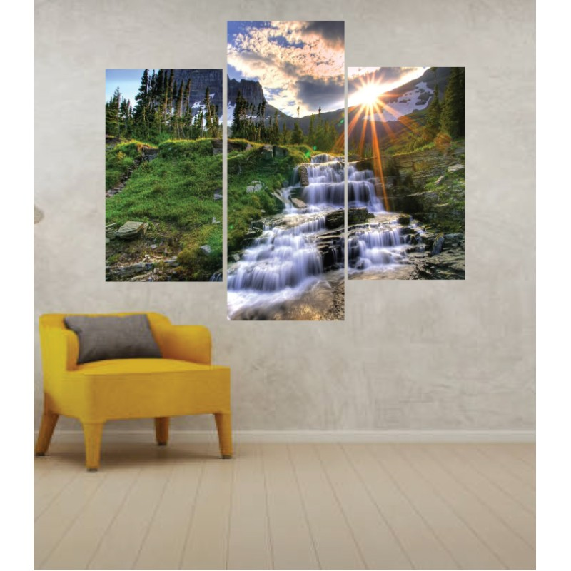 Wall Frames 3 Pieces Set Canvas – Digitally Printed Wall Canvas TJ-247