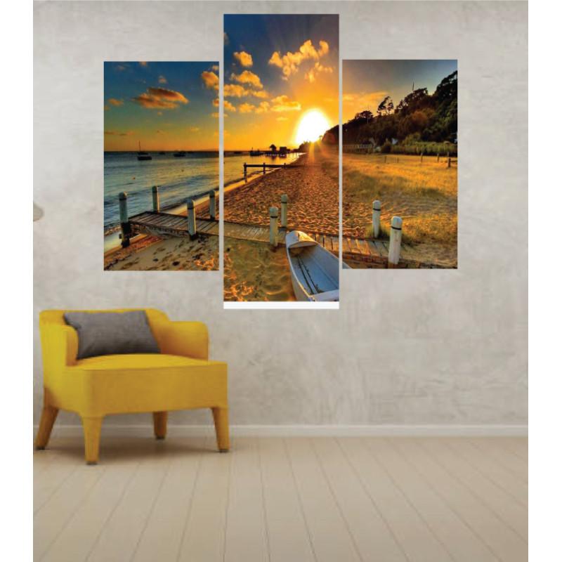 Wall Frames 3 Pieces Set Canvas – Digitally Printed Wall Canvas TJ-25
