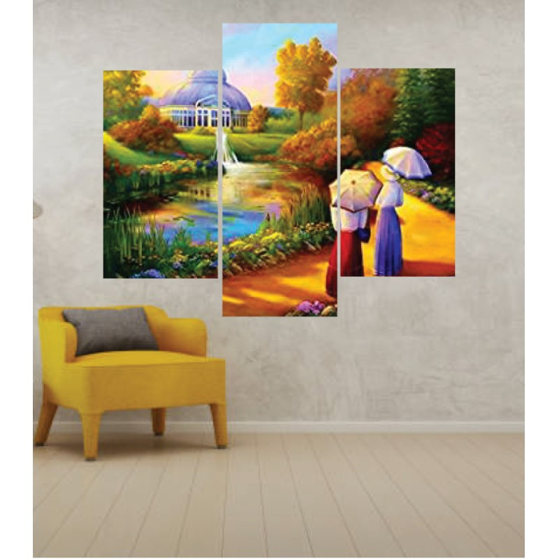 Wall Frames 3 Pieces Set Canvas – Digitally Printed Wall Canvas TJ-251