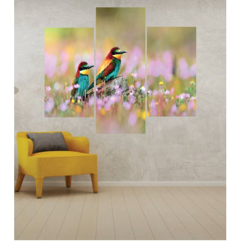 Wall Frames 3 Pieces Set Canvas – Digitally Printed Wall Canvas TJ-254
