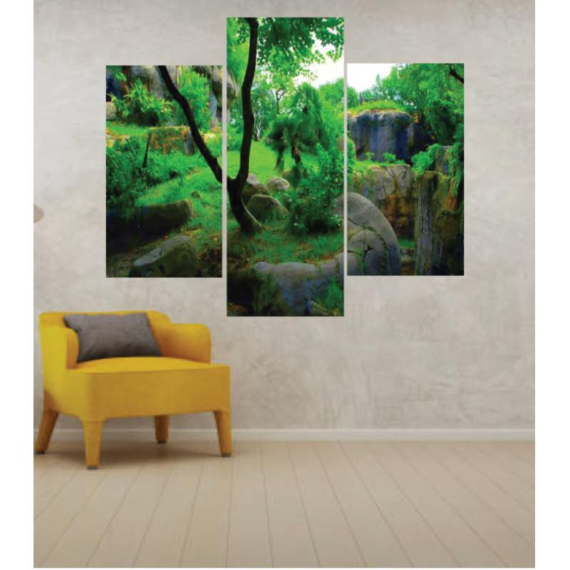 Wall Frames 3 Pieces Set Canvas – Digitally Printed Wall Canvas TJ-255