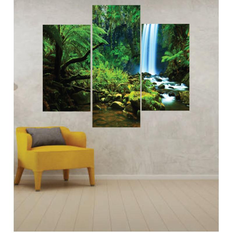 Wall Frames 3 Pieces Set Canvas – Digitally Printed Wall Canvas TJ-256