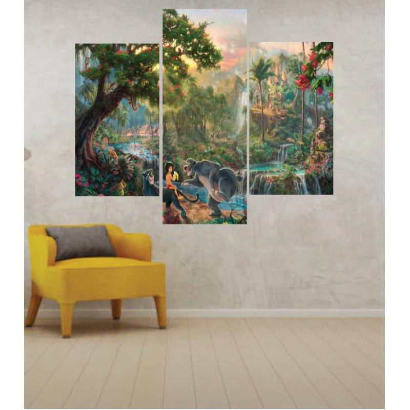 Wall Frames 3 Pieces Set Canvas – Digitally Printed Wall Canvas TJ-258