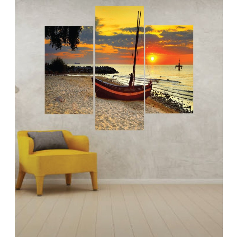 Wall Frames 3 Pieces Set Canvas – Digitally Printed Wall Canvas TJ-26