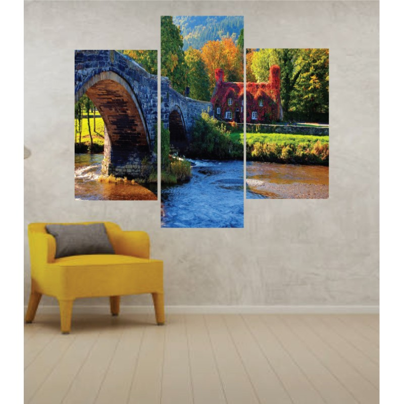 Wall Frames 3 Pieces Set Canvas – Digitally Printed Wall Canvas TJ-264