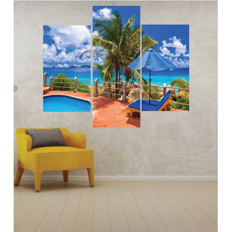 Wall Frames 3 Pieces Set Canvas – Digitally Printed Wall Canvas TJ-27