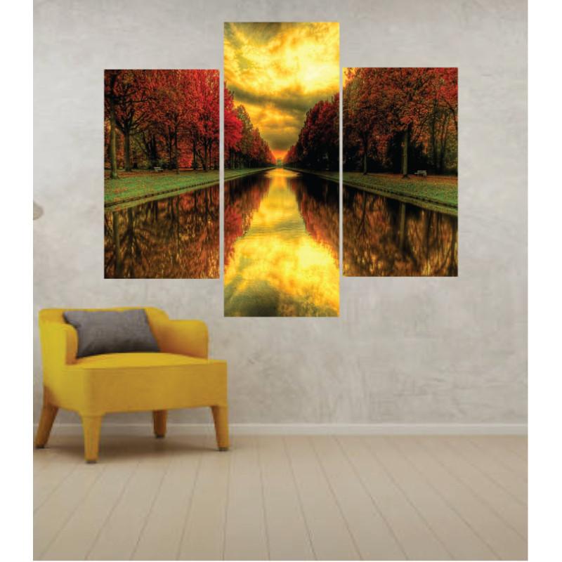 Wall Frames 3 Pieces Set Canvas – Digitally Printed Wall Canvas TJ-270