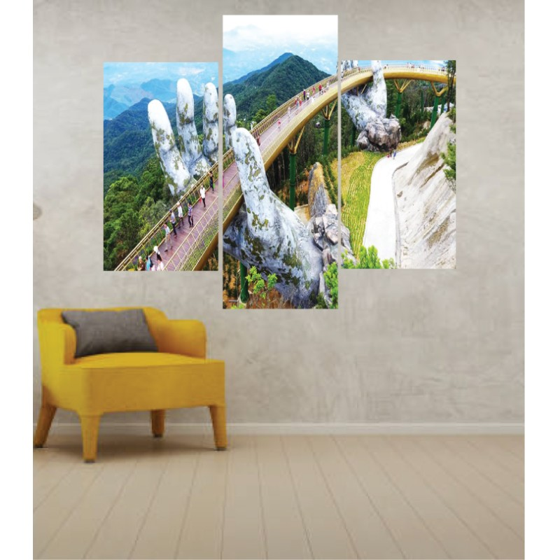 Wall Frames 3 Pieces Set Canvas – Digitally Printed Wall Canvas TJ-271