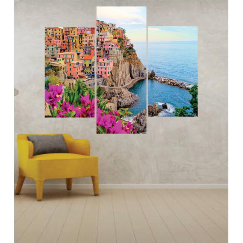Wall Frames 3 Pieces Set Canvas – Digitally Printed Wall Canvas TJ-274