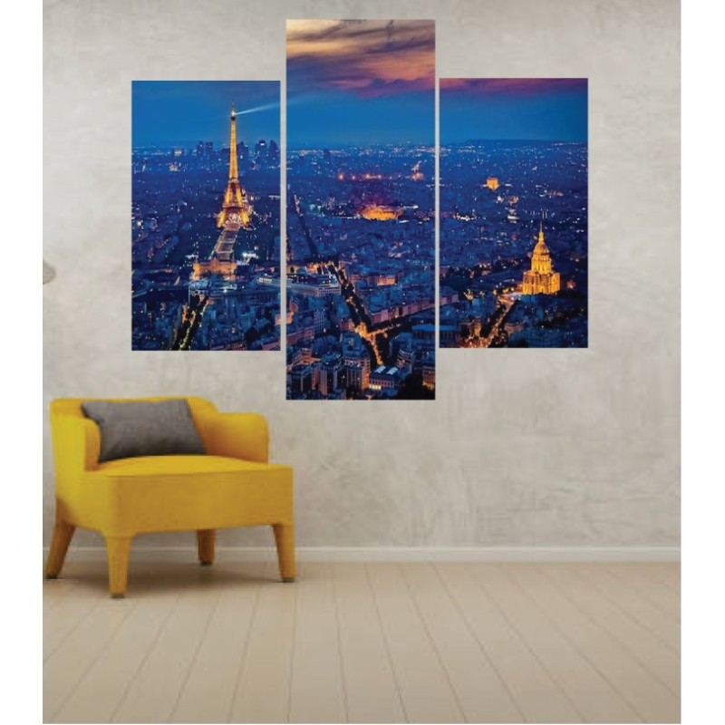 Wall Frames 3 Pieces Set Canvas – Digitally Printed Wall Canvas TJ-276