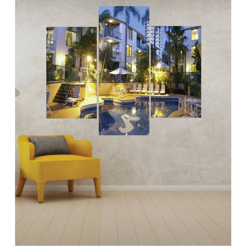 Wall Frames 3 Pieces Set Canvas – Digitally Printed Wall Canvas TJ-30