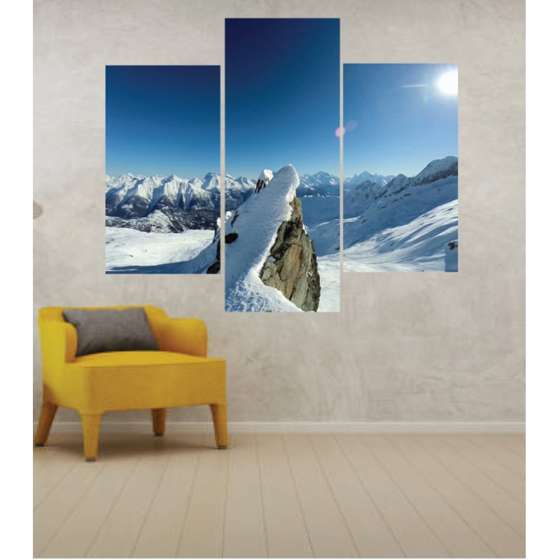 Wall Frames 3 Pieces Set Canvas – Digitally Printed Wall Canvas TJ-31