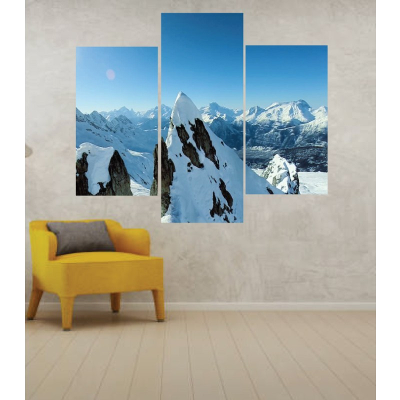 Wall Frames 3 Pieces Set Canvas – Digitally Printed Wall Canvas TJ-32