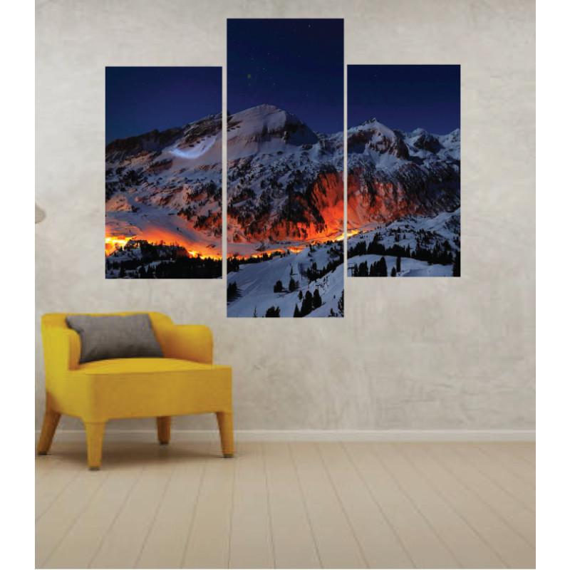Wall Frames 3 Pieces Set Canvas – Digitally Printed Wall Canvas TJ-34